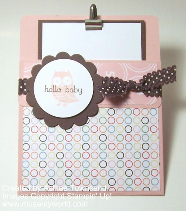 Stampin up cards hello baby pocket card in blushing bride muse stampin up cards hello baby pocket card in blushing bride muse my world filmwisefo